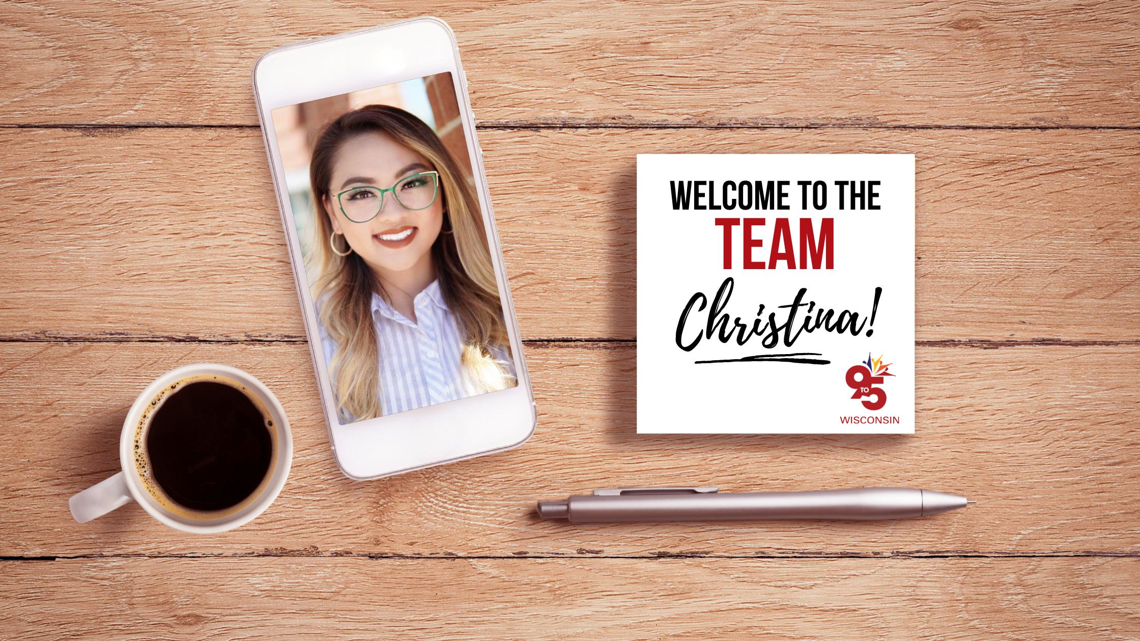 Welcome to the Team, Christina!